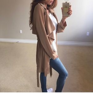 Tan Trench Jacket